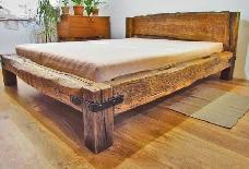 Rustic Bed Jarco