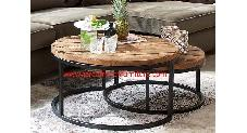 Rustic Round Coffee 90