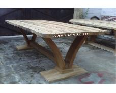 Viola Dining Table with 5cm Thick Top